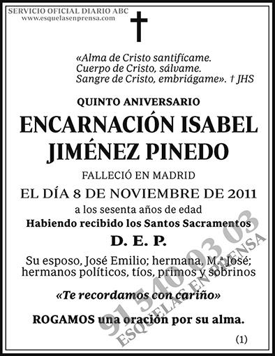 Encarnación Isabel Jiménez
